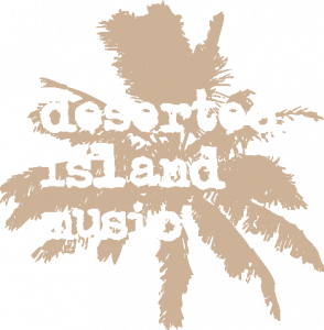 Deserted Island Music logo color diap
