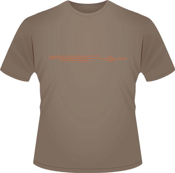Mäläskä - Formula T-Shirt (brown)