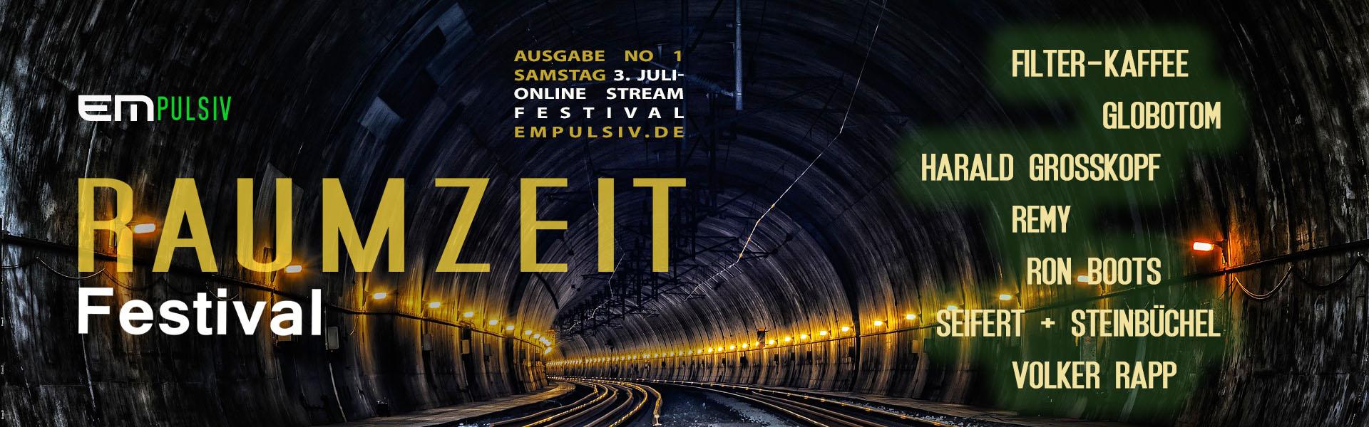 Raumzeit banner